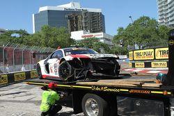 #23 M1 Racing, Audi R8 LMS: Walt Bowlin