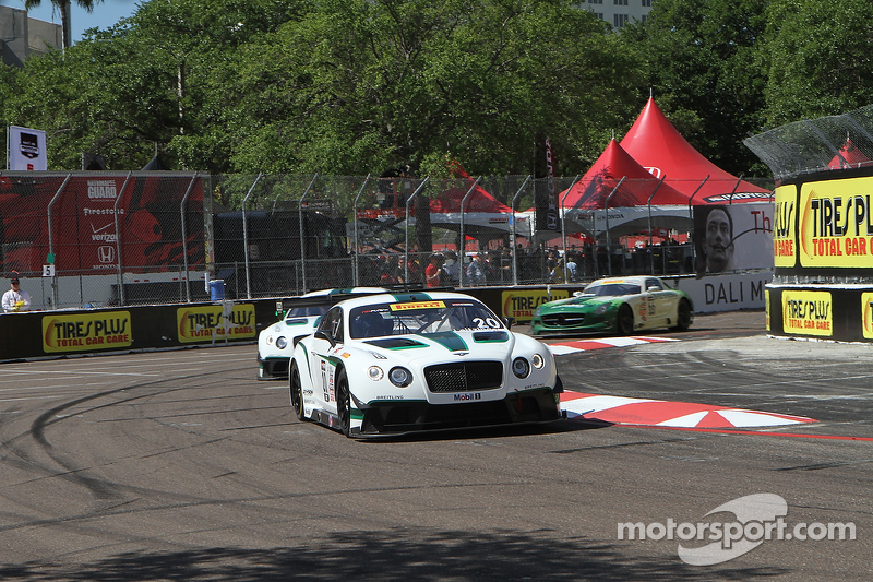 #20 Team Bentley Dyson Racing Bentley Continental GT3: Батч Ляйцингер