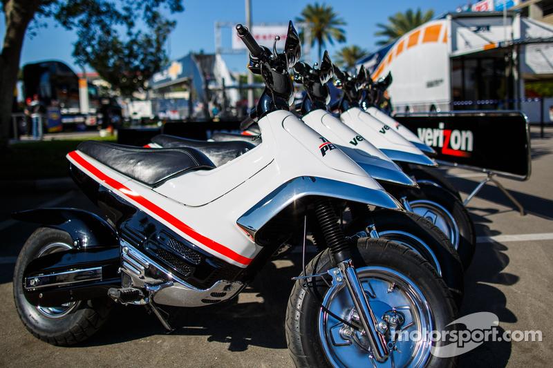 Team Penske tweewielers