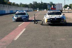 Equipos YPF Chevrolet y Renault Sport en Rafaela
