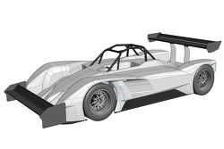 The Drive eO PP03 electric vehicle that will compete at Pikes Peak