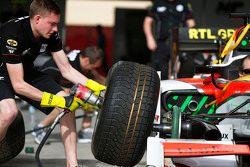 MP Motorsport s'entraîne aux pit stops