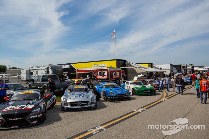 GT pre-race