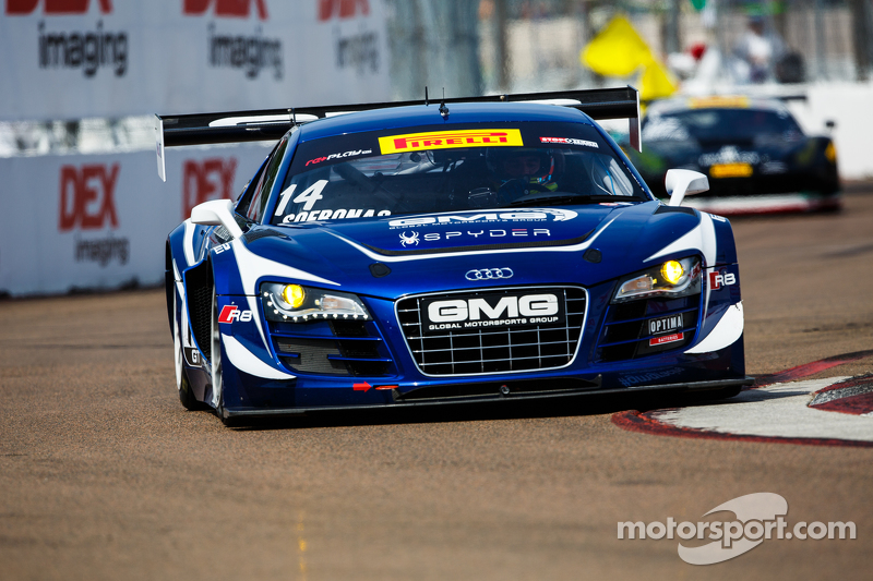 #14 Global Motorsports Group, Audi R8 LMS Ultra: James Sofronas
