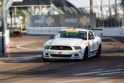 #87 DWW Motorsports, Ford Mustang: Spencer Pumpelly