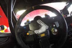 Ferrari direksiyon detayı