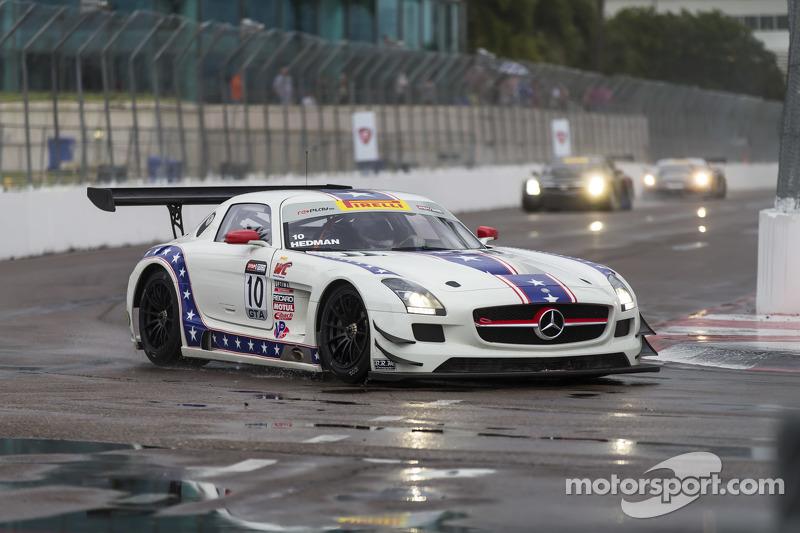 #10 DragonSpeed, Mercedes-Benz AMG SLS GT3: Henrik Hedman