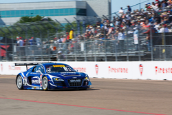 #14 Global Motorsports Group Audi R8 LMS Ultra: Джеймс Софронас
