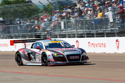 #99 JCR Motorsports Audi R8 LMS Ultra:Джефф Кортни