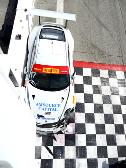 #17 全球赛车组,保时捷911 GT3 Cup: Alec Udell crash