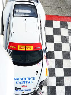 #17 Global Motorsports Group, Porsche 911 GT3 Cup: Alec Udell mit Unfall