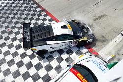 #17 Global Motorsports Group, Porsche 911 GT3 Cup: Alec Udell und #37 Reiter Ingenieuring, Lamborghi
