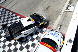 #17 Global Motorsports Group Porsche 911 GT3 Cup: Alec Udell and #37 Reiter Engineering Lamborghini