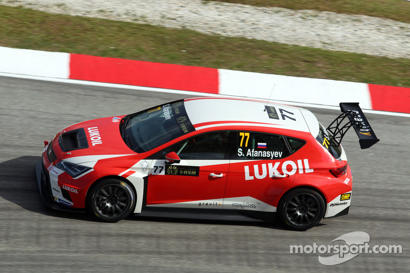 Sergey Afanasyev, SEAT Leon Racer, Craft Bamboo Racing LUKOIL