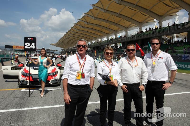 Marcello Lotti, CEO WSC and Nunzia Corvino, David Sonenscher and Emanuele Maltese