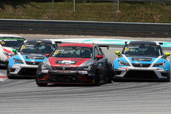 Ferenc Ficza, SEAT Leon Racer, Zengo Motorsport, Stefano Comini, SEAT Leon Racer, Target Competition