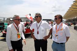 Marcello Lotti, CEO TCR,和Jost Capito,大众赛车运动总监
