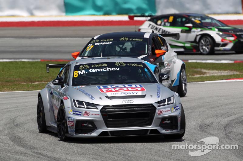 Михайло Грачов, Audi TT, Liqui Moly Team Engstler , Михел Нюкьєр, SEAT Leon Racer, Target Competitio
