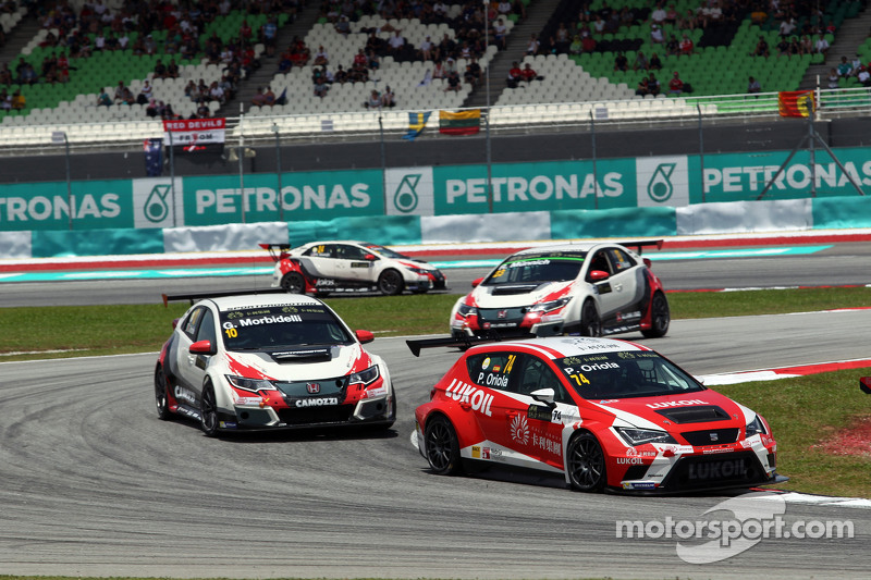 Пепе Оріола, SEAT Leon Racer, Craft Bamboo Racing LUKOIL та Жанні Морбіделлі, Honda Civic TCR, West Coast Racing