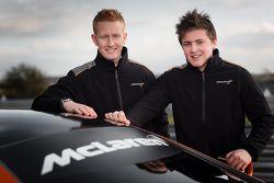 Ross Wylie en Andrew Watson
