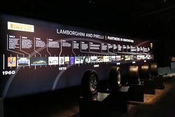 Lamborghini ve Pirelli etkinliği