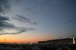 Sun sets over Atlanta