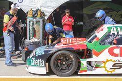 Carlos Okulovich, Maquin Parts Racing, Torino; Reifenwechsel-Training