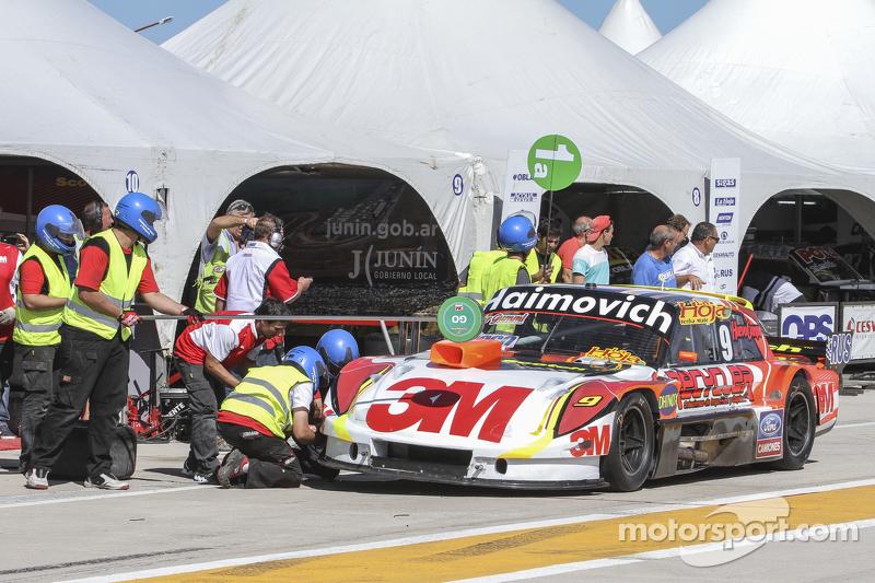 Mariano Werner, Werner福特车队,换胎测试
