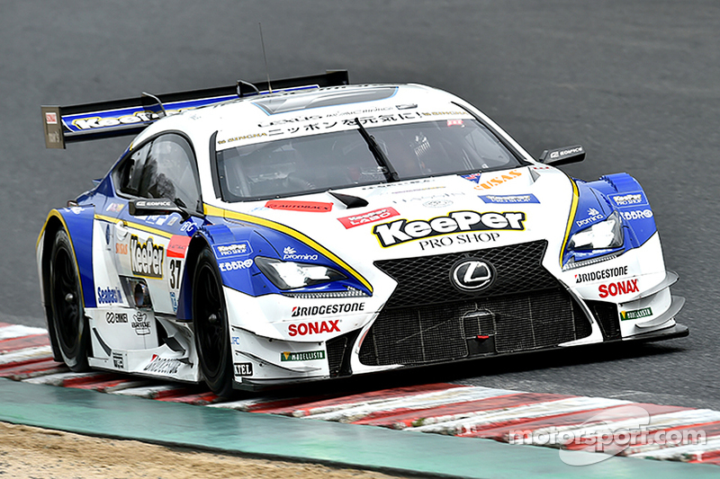 #37 Lexus Team Keeper Tom's, Lexus RC F