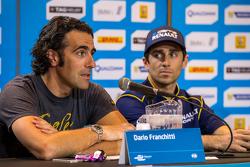 Dario Franchitti with Nicolas Prost