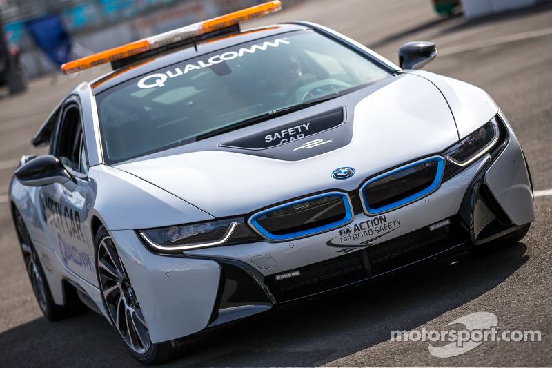 El auto de seguridad eléctrico BMW
