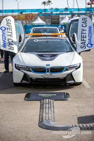 The BMW electric safety car