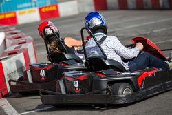 Картинговая гонка пилотов Formula E