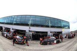 Belgian Audi Club Team WRT team area