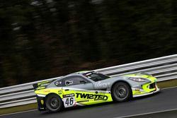#46 Twisted Team Parker G55 Ginetta GT4: Adrian Barwick, Bradley Ellis