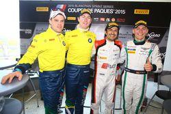 杆位:Stéphane Ortelli, 比利时奥迪俱乐部车队WRT, 第二名Maxime Martin, Dirk Müller, 宝马运动奖杯车队Brasil, 第三名 Maximilian Bu
