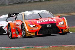 #6 Eneos Sustina, Lexus RC F: Kazuya Oshima, Yuji Kunimoto