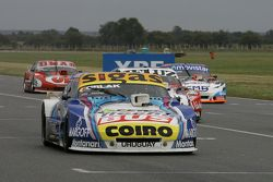 Mauricio Lambiris, Coiro Dole Racing Torino,和Pedro Gentile, JP 雪佛兰车队