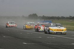 Luis Jose di Palma, Indecar Racing, Torino; Mariano Werner, Werner Competicion, Ford; Nicolas Bonell