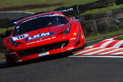 #18 FF Corse 法拉利458: Adam Carroll, Gary Eastwood