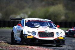 #83 Bentley Team HTP Bentley Continental GT3: Olivier Lombard, Jules Szymkowiak
