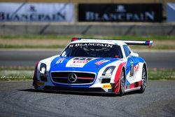#71 俄罗斯GT车队,梅赛德斯SLS AMG GT3: Alexei Vesiliev, Christophe Bouchut