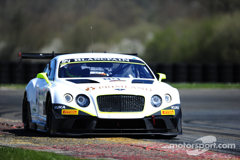 #84 Bentley Team HTP Bentley Continental GT3: Vincent Abril, Maximilian Buhk