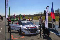 #75 ISR, Audi R8 LMS Ultra: Marco Bonanomi, Filip Salaquarda