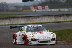 #911 Fach Auto Tech Porsche 997 GT3 R: Marcel Wagner, Martin Ragginger