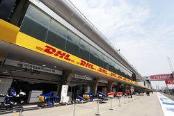 Sauber F1 Team stands