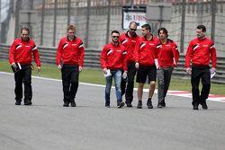 Will Stevens, Manor F1 Team, dan Roberto Merhi, Manor F1 Team