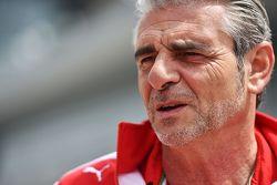 Маурицио Арривабене, директор команды Ferrari