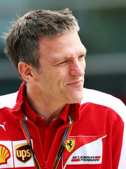 James Allison, Ferrari, Technischer Direktor Chassis