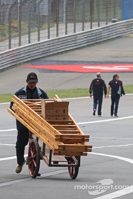 Preparaciones en el Circuit